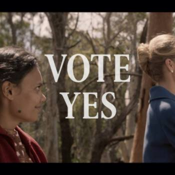 Promotional image from the Vote Yes Facebook page