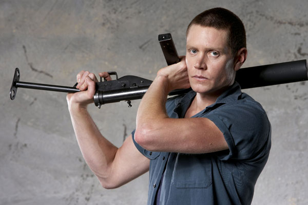 "Nathan Page as Ray ""Chuck"" Bennett in Underbelly 2: Tale of Two Cities"